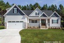 House Plan Design - Craftsman Exterior - Front Elevation Plan #929-1038