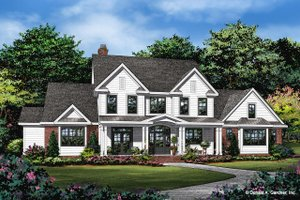 Farmhouse Exterior - Front Elevation Plan #929-1113