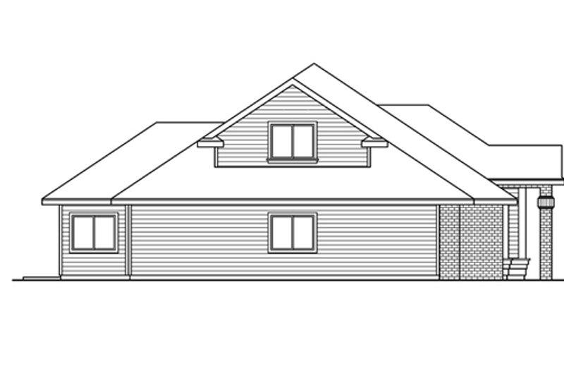 Exterior - Other Elevation Plan #124-605 - Houseplans.com