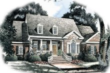 Traditional Exterior - Front Elevation Plan #429-41