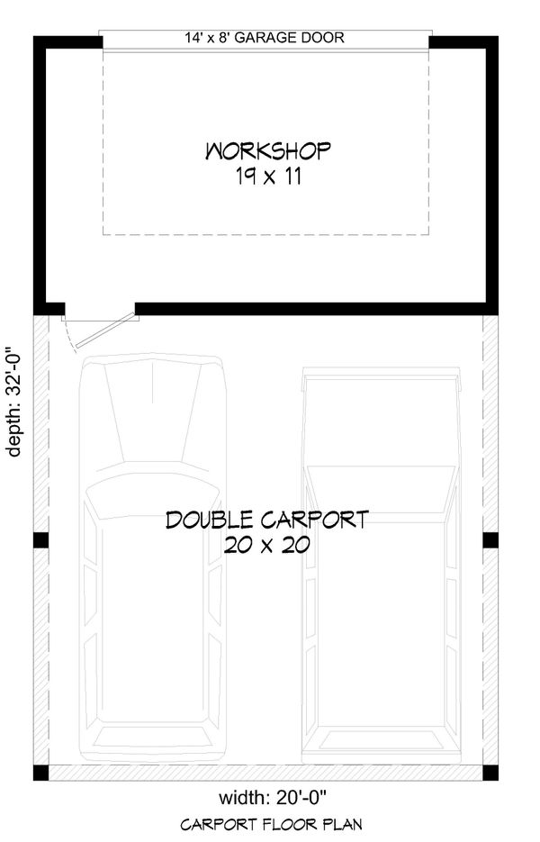 Country Floor Plan - Main Floor Plan #932-180