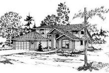 House Plan Design - Contemporary Exterior - Front Elevation Plan #124-152