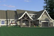Craftsman Style House Plan - 4 Beds 2.5 Baths 4289 Sq/Ft Plan #51-575 Exterior - Other Elevation