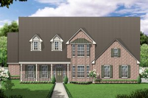 Home Plan - Colonial Exterior - Front Elevation Plan #84-421