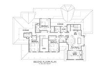Country Floor Plan - Upper Floor Plan Plan #1054-73