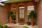 Southern Style House Plan - 3 Beds 2.5 Baths 1992 Sq/Ft Plan #21-234 Exterior - Other Elevation