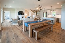 Dream House Plan - Farmhouse Interior - Dining Room Plan #901-132