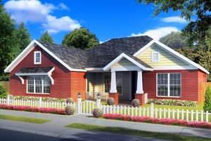 Traditional Exterior - Front Elevation Plan #513-2062