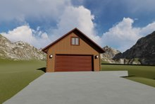 Dream House Plan - Traditional Exterior - Front Elevation Plan #1060-89