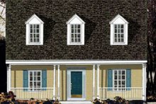 House Plan Design - Country Exterior - Front Elevation Plan #3-152