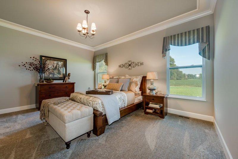 Craftsman Interior - Master Bedroom Plan #20-2154 - Houseplans.com