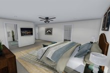 Farmhouse Interior - Master Bedroom Plan #1060-1