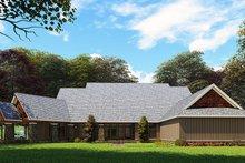 Dream House Plan - Craftsman Exterior - Rear Elevation Plan #923-162
