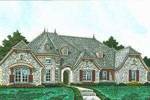 House Plan Design - European Exterior - Front Elevation Plan #310-1295