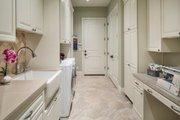 European Style House Plan - 4 Beds 4.5 Baths 4455 Sq/Ft Plan #48-650 Interior - Laundry