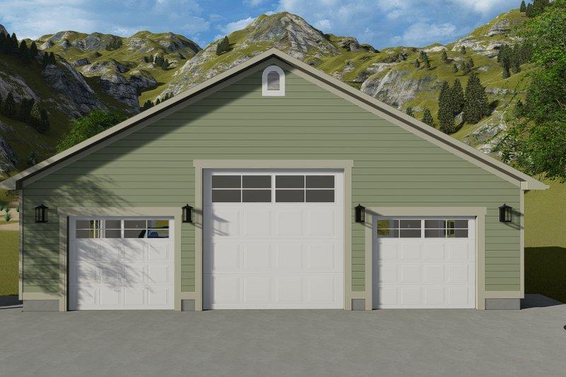 House Plan Design - Farmhouse Exterior - Front Elevation Plan #1060-115