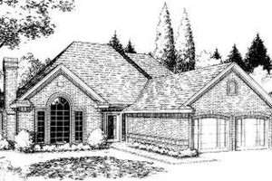 Traditional Exterior - Front Elevation Plan #310-152