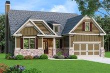 Craftsman Exterior - Front Elevation Plan #419-229