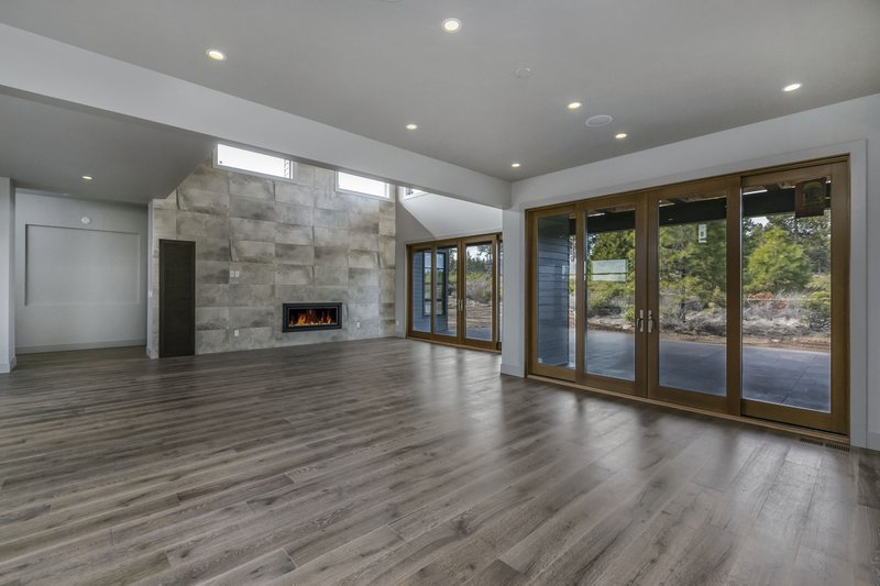 Modern Interior - Family Room Plan #892-17 - Houseplans.com