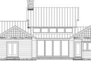 Craftsman Style House Plan - 3 Beds 3 Baths 2390 Sq/Ft Plan #137-377 Exterior - Rear Elevation