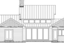 Architectural House Design - Craftsman Exterior - Rear Elevation Plan #137-377