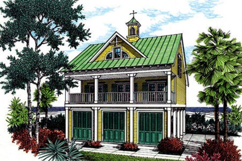 House Plan Design - Cottage Exterior - Front Elevation Plan #45-354
