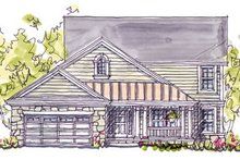 Home Plan Design - Country Exterior - Front Elevation Plan #20-247