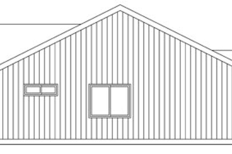 Ranch Exterior - Other Elevation Plan #124-769 - Houseplans.com