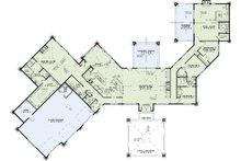 Contemporary Floor Plan - Main Floor Plan Plan #17-2551