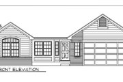 Ranch Style House Plan - 3 Beds 2.5 Baths 2025 Sq/Ft Plan #116-196 Exterior - Other Elevation