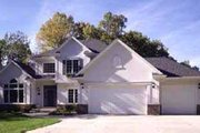 Traditional Style House Plan - 4 Beds 2.5 Baths 3113 Sq/Ft Plan #70-490 Exterior - Front Elevation