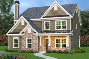 Traditional Style House Plan - 4 Beds 2.5 Baths 2260 Sq/Ft Plan #419-313 Exterior - Front Elevation