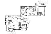 Farmhouse Style House Plan - 5 Beds 4.5 Baths 6051 Sq/Ft Plan #124-111 Floor Plan - Upper Floor Plan