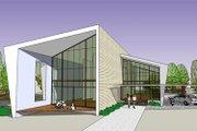 Modern Style House Plan - 3 Beds 3 Baths 3721 Sq/Ft Plan #467-2