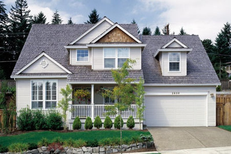 Dream House Plan - Country Exterior - Front Elevation Plan #48-340