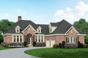 European Style House Plan - 3 Beds 2.5 Baths 2233 Sq/Ft Plan #929-692 Exterior - Front Elevation