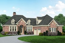 Home Plan - European Exterior - Front Elevation Plan #929-692