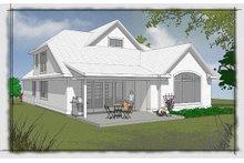 Traditional Exterior - Rear Elevation Plan #48-502