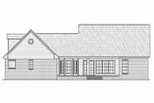 Dream House Plan - Country Exterior - Rear Elevation Plan #21-287