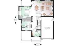 Farmhouse Floor Plan - Main Floor Plan Plan #23-720