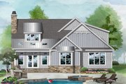 Cottage Style House Plan - 3 Beds 2 Baths 1956 Sq/Ft Plan #929-1134