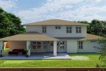 Home Plan - Mediterranean Exterior - Rear Elevation Plan #1060-29