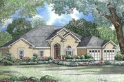 Southern Style House Plan - 4 Beds 2.5 Baths 2554 Sq/Ft Plan #17-1048 Exterior - Other Elevation