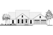 House Blueprint - Farmhouse Exterior - Front Elevation Plan #430-188