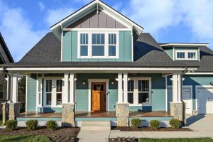 Craftsman Exterior - Front Elevation Plan #461-70