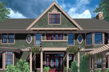 Dream House Plan - Colonial Exterior - Front Elevation Plan #48-151