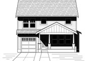 Craftsman Style House Plan - 3 Beds 2.5 Baths 1794 Sq/Ft Plan #423-64