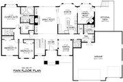 Craftsman Style House Plan - 3 Beds 2.5 Baths 2361 Sq/Ft Plan #51-258 Floor Plan - Main Floor