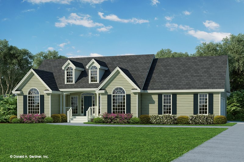 Home Plan - Ranch Exterior - Front Elevation Plan #929-356