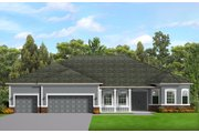 Ranch Style House Plan - 3 Beds 2.5 Baths 2477 Sq/Ft Plan #1058-198 Floor Plan - Main Floor